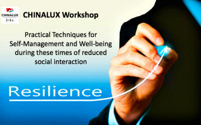 CHINALUX Workshop: Practical Techniques for Self-Management and Well-being during these times of reduced social interaction