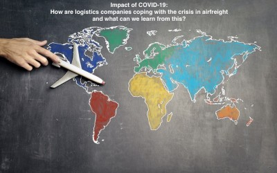 Impact of COVID-19: How are logistics companies coping with the crisis in airfreight and what can we learn from this?