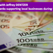 How are banks supporting local businesses during COVID-19?