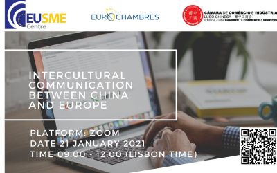 Partner's Event of Interest – EUSME: Intercultural Communication between China and Europe